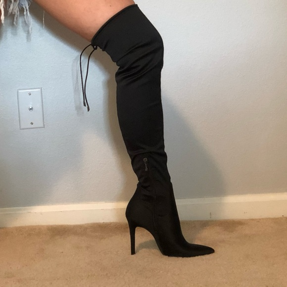 c12cec40e06 Jessica Simpson Shoes - NWOT Jessica Simpson Londy Satin Knee High Boot.